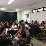 """2º encontro do Curso de Qualificação Profissional """"Alimentação e Nutrição na Atenção Básica"""""""