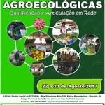 Encontro Alagoano de Feiras Agroecológicas - Dias 22 e 23 de Agosto